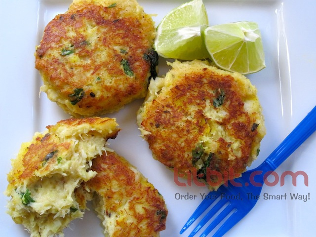 Fish Cakes are common street food in Thiland. Now you can get this at Pebbles Restaurant, Andheri (W) on www.titbit.com