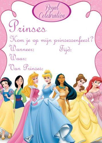 uitnodiging prinsessenfeestje - Google zoeken