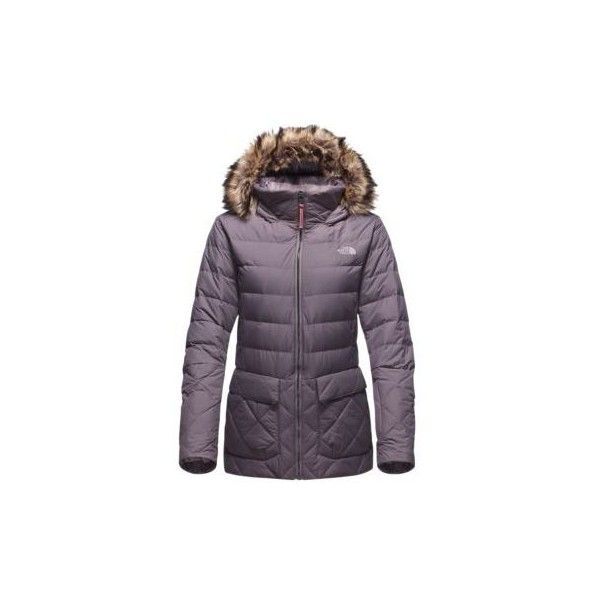 The North Face Women's Nitchie Insulated Parka Coat ($280) ❤ liked on Polyvore featuring outerwear, coats, rabbit grey, insulated coat, the north face, parka coat, water resistant coat and the north face parka