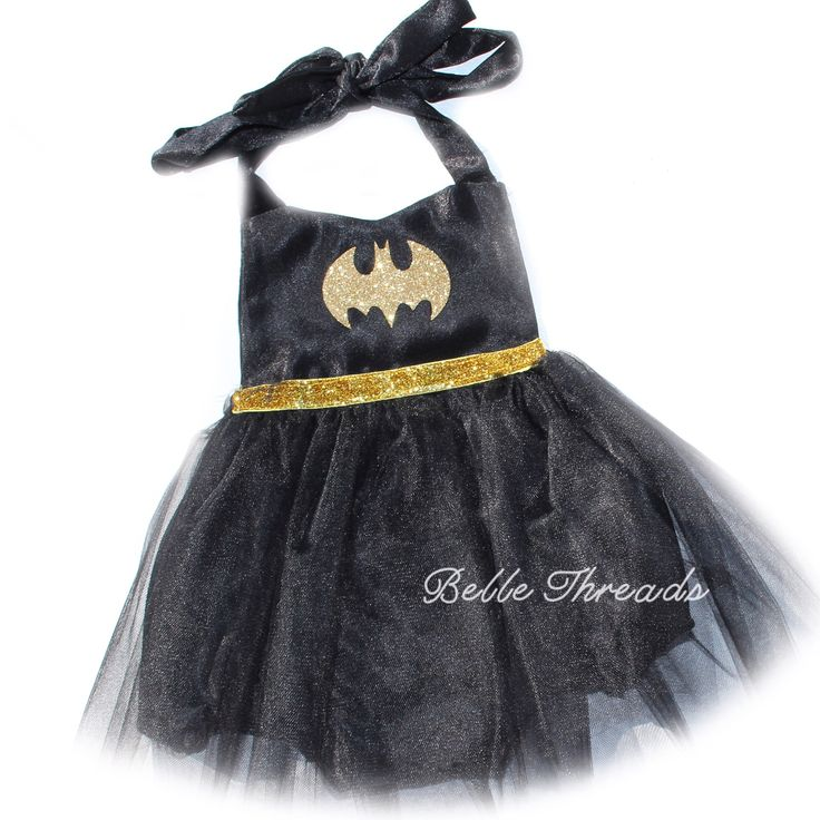 Batman Tutu Romper READY TO SHIP #bellethreadspinterest