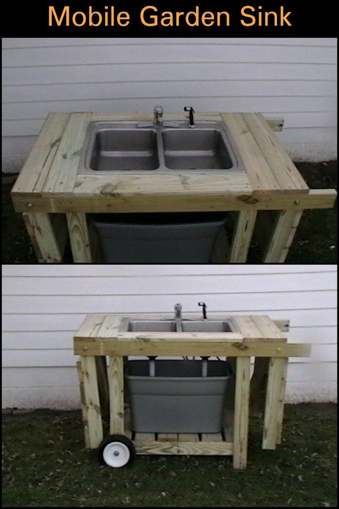 Install a Fully Functional DIY Outdoor Sink in Your Backyard