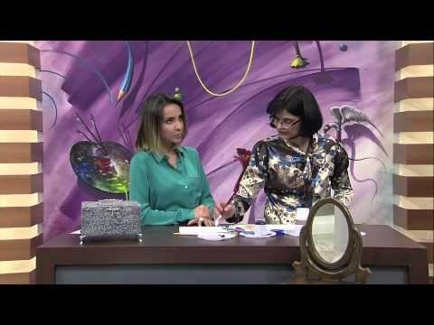 Mulher.com 01/08/2013 Vera Lucia Francisco - Porta Joia Textura Metalizado - YouTube
