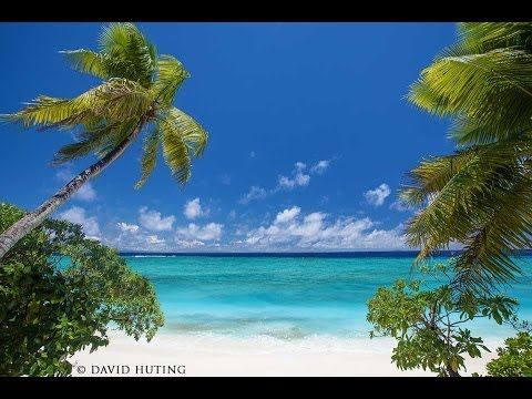 1 HOUR ON THE MOST BEAUTIFUL ISLAND EVER Slow-TV Relaxation Video 1080p - YouTube//ocean sounds and so beautiful