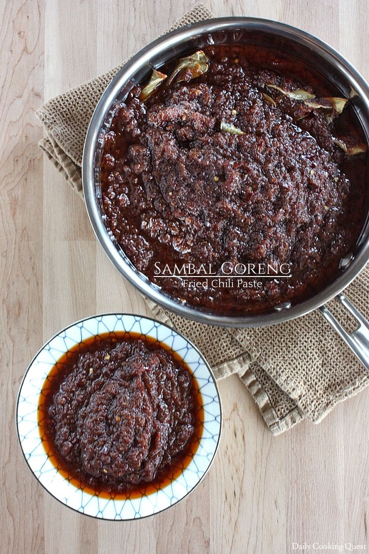Sambal Goreng – Fried Chili Paste