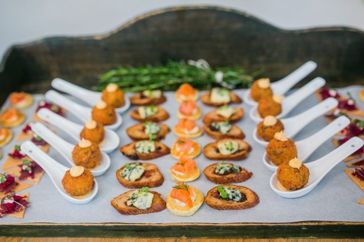 Canapes by Melbourne caterer, Bursaria