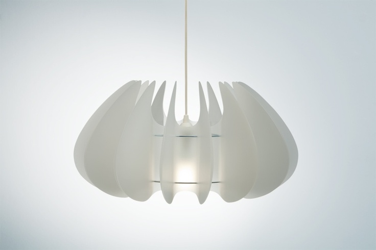 michelle lampshade translucent by Norla Design