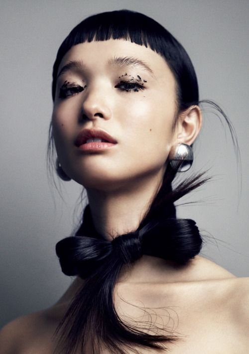 Yuka Mannami by Marcus Ohlsson for Vogue Japan September 2016