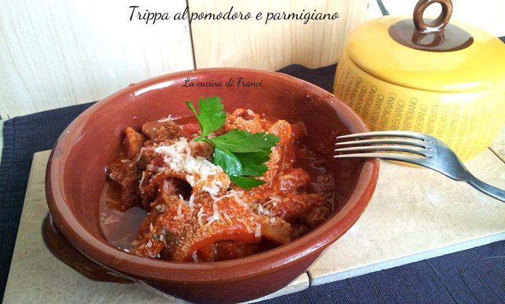 Trippa al pomodoro e parmigiano ricetta senza glutine