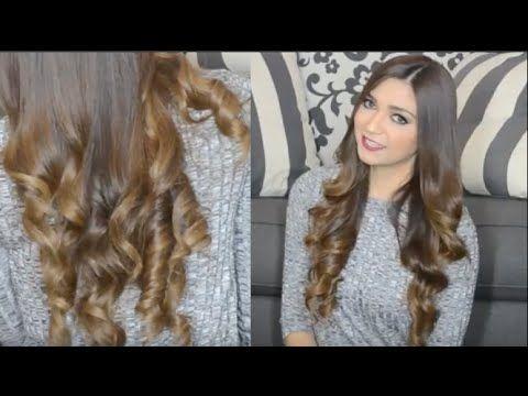 Rizos con Plancha ondas faciles en minutos - YouTube