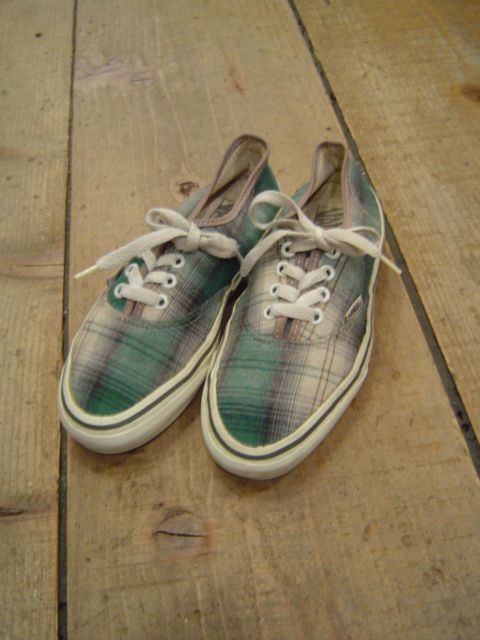 1990's VANS AUTHENTIC MADE IN USA