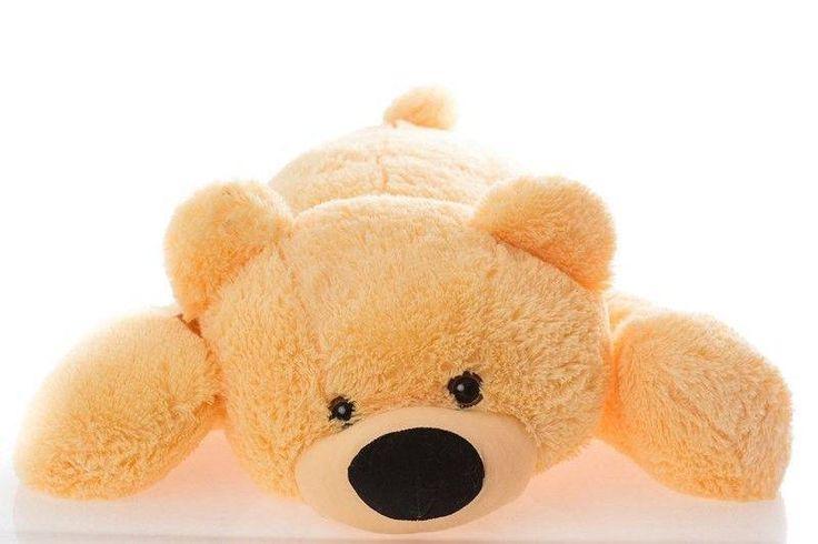 Большая мягкая игрушка медведь Умка 125 см, Медовый  Цена: 694 UAH  Артикул: У2-25 мед   Подробнее о товаре на нашем сайте: https://prokids.pro/catalog/igrushki/myagkie_igrushki/bolshaya_myagkaya_igrushka_medved_umka_125_sm_medovyy/