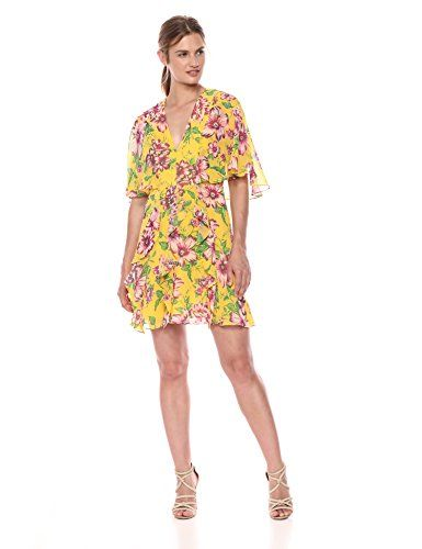 3a972d752ce Chic BCBGMAXAZRIA Women s Short Floral a-Line Dress online.   98.99   shoppingdresses from