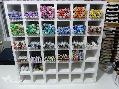 Copic Markers And Sketch Marker Storage Oh How My Heart Aches For These