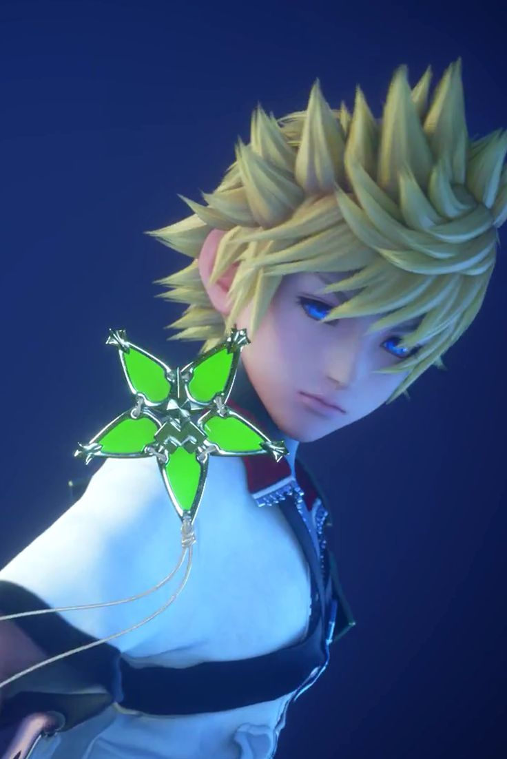 Ventus and green flower maded necklace<< It's a wayfinder!!