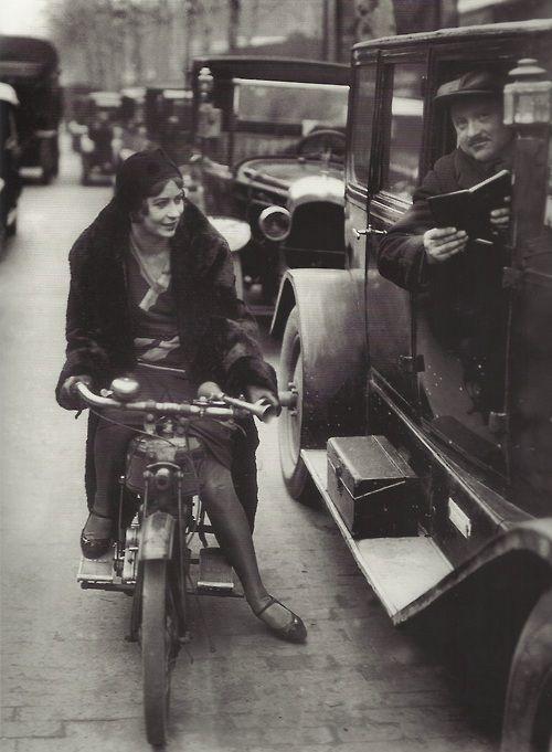 Femme cherche un chauffeur