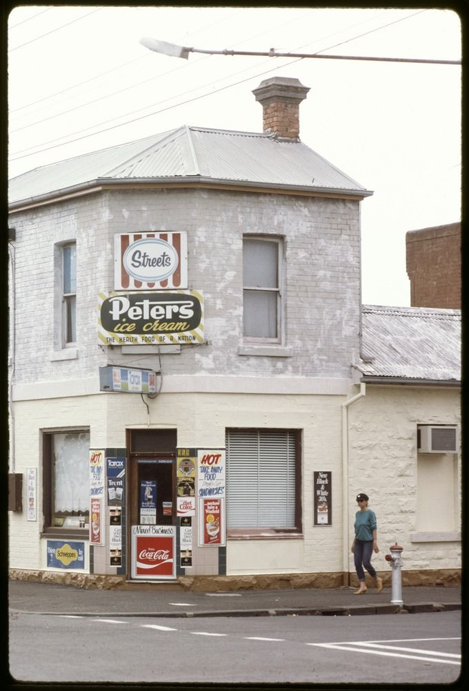 The corner Milk Bar before convenience stores and supermarkets replaced them.