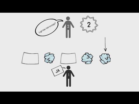 Teamoefening 9 - Elkaar leren lezen (Teambuilding spellen) 2016 - YouTube