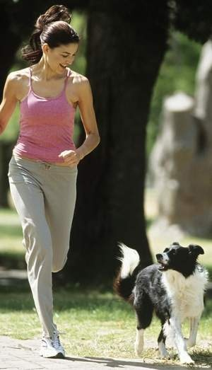 Walk-the-dog workouts