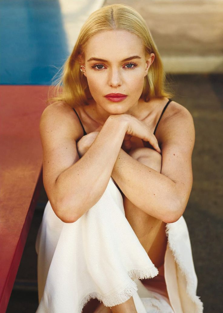 Smile: Kate Bosworth in InStyle US November 2016 by Thomas Whiteside