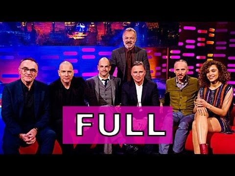 """The Graham Norton Show"" (S20E16) Trainspotting 2 cast & director Danny Boyle. Ewan McGregor, Jonny Lee Miller, Robert Carlyle & Ewen Bremner. Izzy Bizu performs."