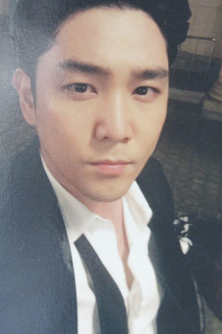 kpop scans: Kangin ( Super Junior ) - Magic special album part 2 photocard + autograph