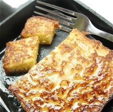 Brioche French Toast - a butter-rich loaf turned into golden, eggy French toast.