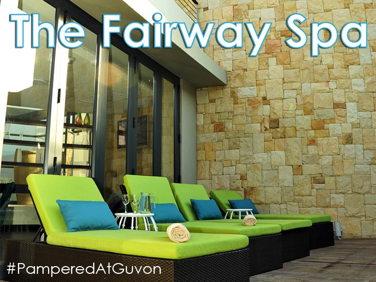The Fairway Spa invites you to immerse yourself in our oasis providing an ideal retreat from the demands of the city. #PamperedAtGuvon #atGuvon #lounger