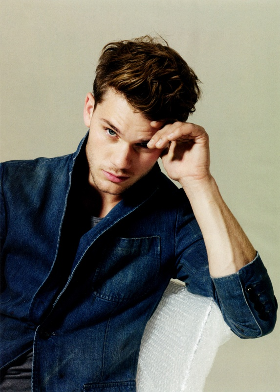 Jeremy Irvine, discovered in the movie War Horse.
