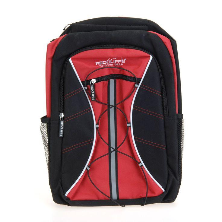 Deze rode rugzak is dankzij de vele opbergmogelijkheden ideaal voor onderweg. De zwarte tas heeft een stevig handvat aan de bovenzijde en telt 3 vakken met een ritssluiting. Aan de zijkant vind je twee vakken van mesh speciaal voor je drinkfles. Met het elastiek op de voorzijde snoer je de tas gemakkelijk aan. De rugzak heeft ademende en ergonomische achterzijde en draagt daarmee erg comfortabel. Met de stevige hengsels aan de achterzijde neem je de tas overal mee naar toe!Afmeting: …