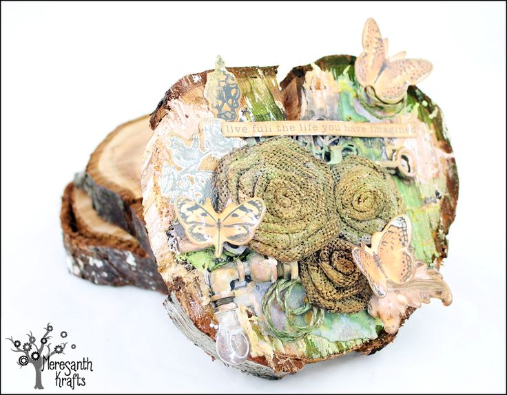 Meresanth Krafts: Alterowany pieniek / An altered stump slice