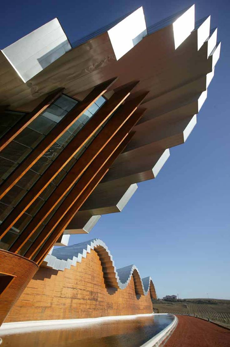 Bodegas Ysios Winery, Ruta del Vino de Rioja Alavesa, Spain by Santiago Calatrava