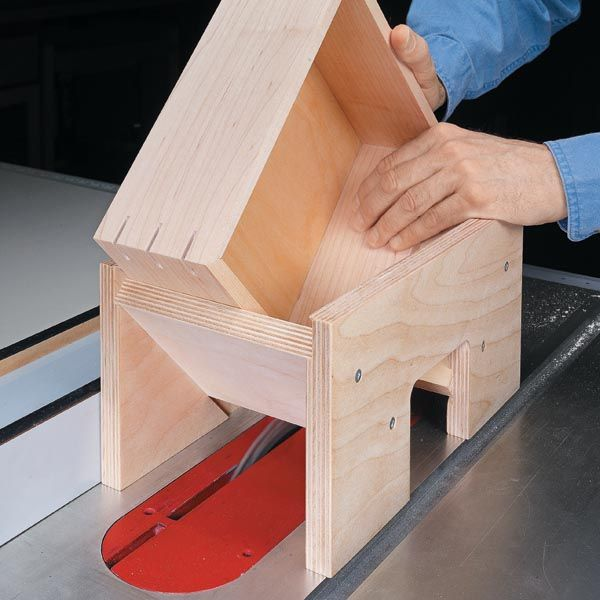 Table Saw Jig for Strong Miters | Woodsmith Tips