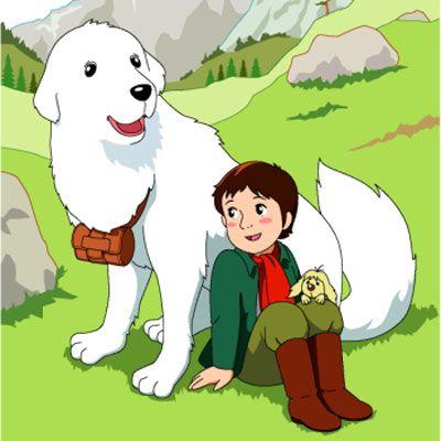 the adventures of Belle & Sebastian. - #cartoon #anime بيل وسباستيان