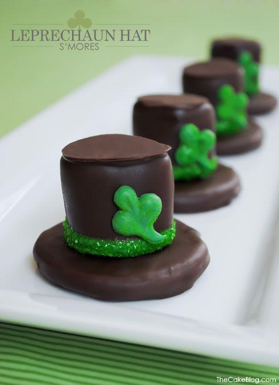 DIY: Leprechaun Hat S'mores   Half Baked - The Cake Blog