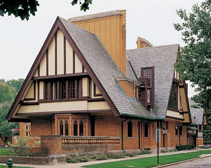 229 best images about 1890 1960 tudor revival on pinterest for Tudor revival house plans