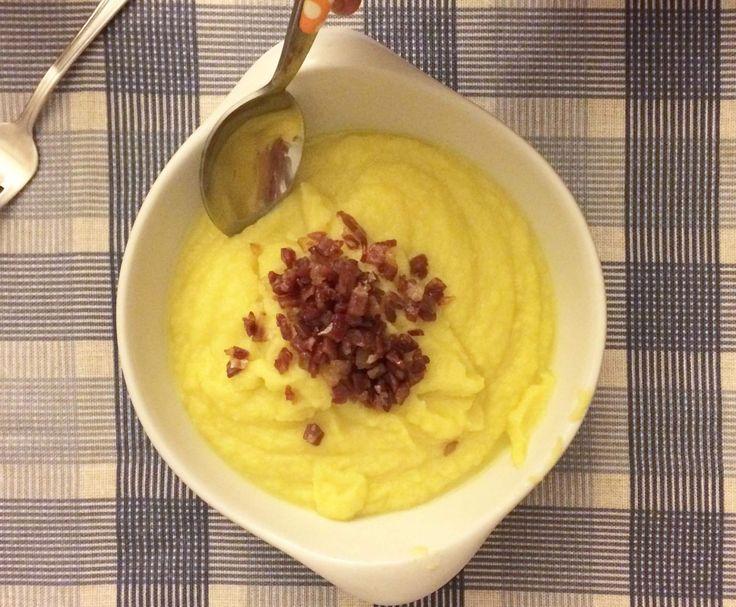 Ricetta Crema di cavolfiore e zafferano pubblicata da tonnina - Questa ricetta è nella categoria Zuppe, passati e minestre