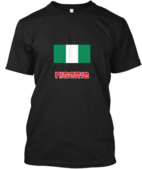Nigeria Flag Retro Red Design Black T-Shirt Front - This is the perfect gift for someone who loves Nigeria. Thank you for visiting my page (Related terms: I Heart Nigeria,Nigeria,Nigerien,Nigeria Travel,I Love My Country,Nigeria Flag, Nigeria Map,Nigeria  #Nigeria, #Nigeriashirts...)