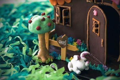 FIESTA DE CHOCOLATES AL ESTILO HANSEL Y GRETEL! Visita nuestro sitio web y conoce más nuestras ideas: cuori.com.co/