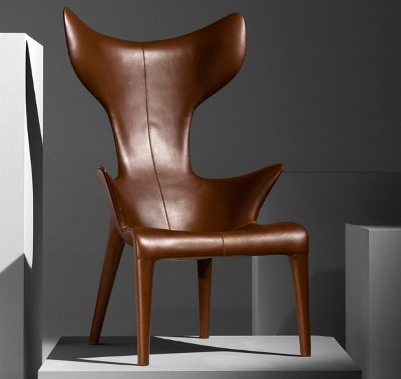 Captivating Eugeni Quitllet And Philippe Starck Lou Read Armchair   Designed For Le  Royal Monceau Raffles Paris Hotel. Fiberglass Structure With Brown Q  Leather Or Dark ... Good Ideas