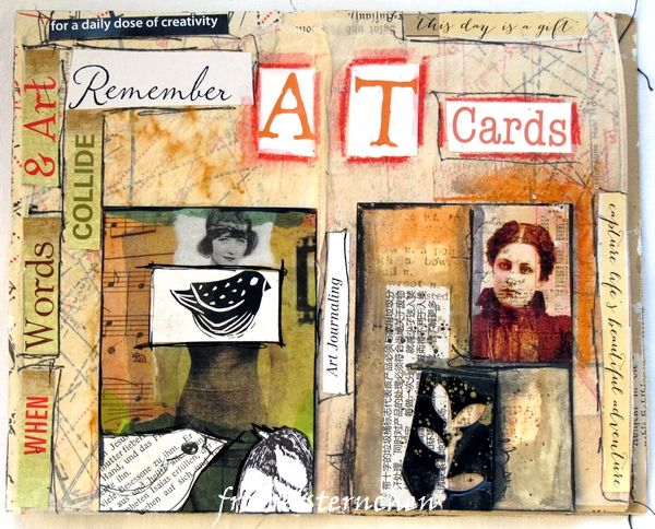 froebelsternchen: 2260 - Remember Artist Trading Cards