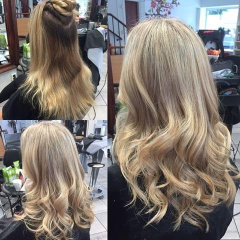 Babylights och nyansering av @so_fian #karlstad #sweden #frisör #hår #hårvård #hårfärg #babylights #folieslingor #slingor #highlights #wella #wellaprofessionals #wellahair #wellalife #frisörsalong #blond #blonde