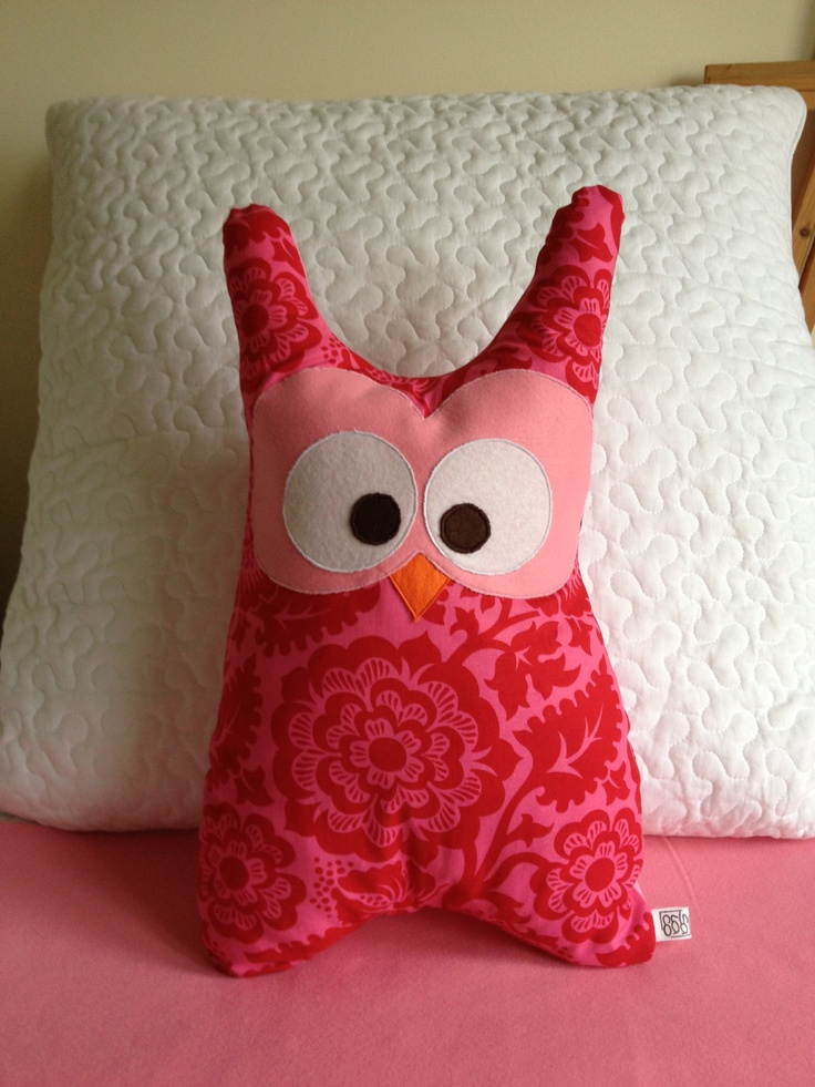 Owl Pillow by SALACO Craft