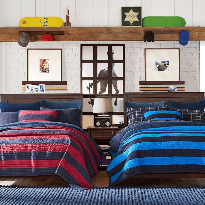 Beadboard Basic Bed Set | Lost boy | Pottery barn bedrooms ...