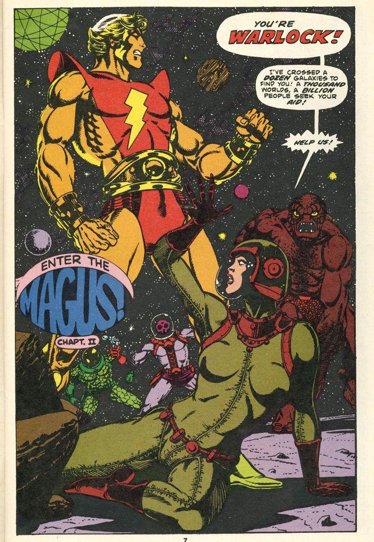 "coolpages: Strange Tales #178 (""Who Is Adam Warlock?"" - Marvel Comics - February 1975) Writer/Illustrator: Jim Starlin"
