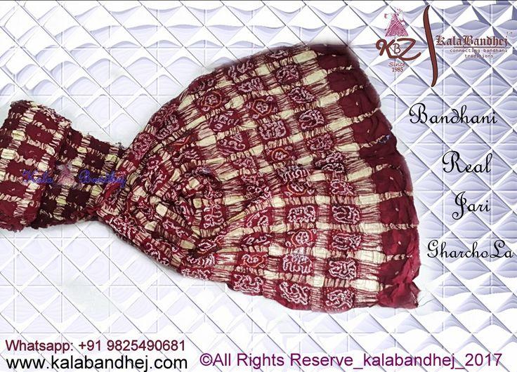 #KalaBandhej ™ Now make yr self to be a prettiest in this season of love in our Gahrchola saree.... #Bandhani #Handcraft #Tradtional #Banarasi #Silk #Saree in #pure #Crape #Georgette #material #Saree #An #Exclusively #Expensive #Collection #Bridal #wea #KalaBandhej #Bandhani #HandMade #FolkArt #Khatri #Kutch #Gujarat #Upada #Pure #Real #Zari #Sarees  #Dupatta #IndianEthnicWear #WomenWear #WeddingWear #BridalWear #Vogue #BollywoodFashion #IndianDesigners #Classy #Stylist #Expensive #Exclusive…
