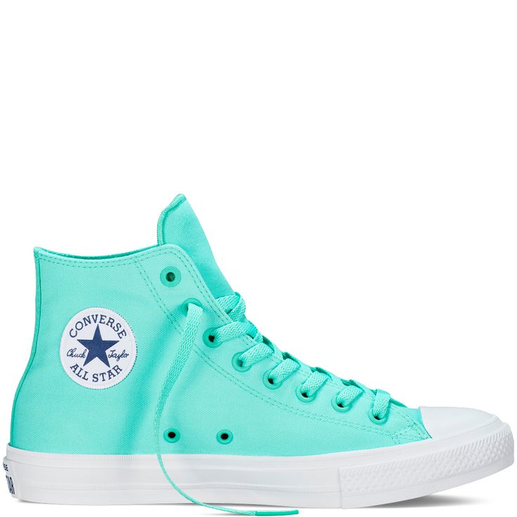 Chuck II (Neon Edition)  Color: Teal $75 Converse.com