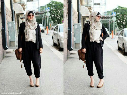 Hijab casual style