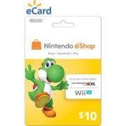 Nintendo eShop $10 (Email Delivery)