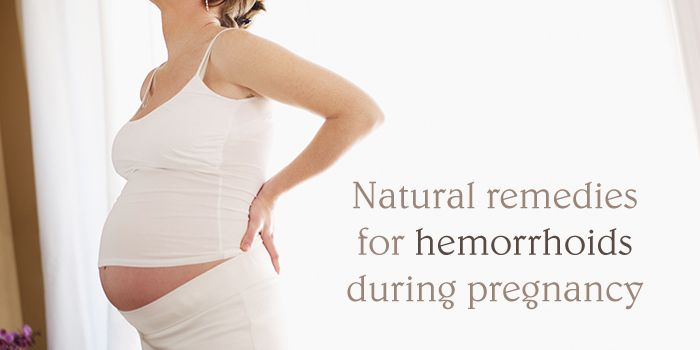 Hemorrhoids during pregnancy are a common pregnancy related complaint Fortunately, it is possible to cure hemorrhoids with some safe, easy natural remedies