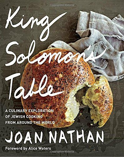 King Solomon's Table: A Culinary Exploration of Jewish Cooking from Around the World (Joan Nathan) / TX724 .N375 2017 / https://catalog.wrlc.org/cgi-bin/Pwebrecon.cgi?BBID=16980544